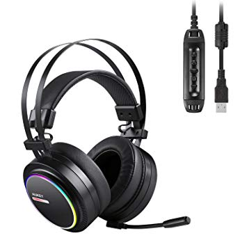 Test AUKEY Casque Gamer avec Son Surround 7.1 Virtuel Casque PS4