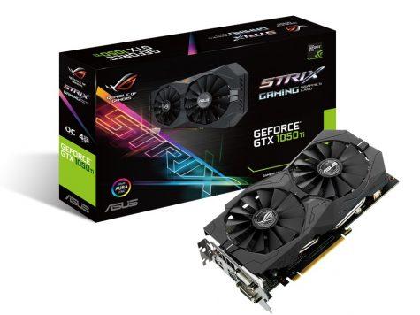 Test Asus STRIX-GTX1050TI-O4G-GAMING Carte Graphique Nvidia