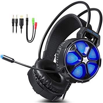 Test Casque PC, EasySMX COOL 2000 Casque Gaming Stéréo avec