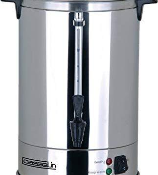 Test Casselin CPC100 - Percolateur à café 100 tasses - Noir,