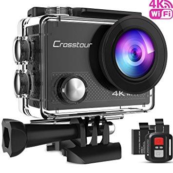 Test Crosstour Caméra Sport 4K Ultra HD Wi-FI 16 MP avec