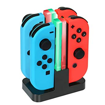 Test KINGTOP 4 en 1 Chargeur Nintendo Switch Manettes Joy-Con