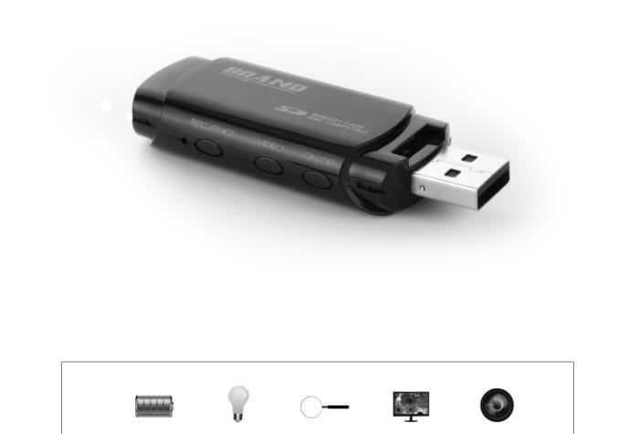 Test Mengshen Full HD 1080p USB Stick Covert Spycam Mini DVR