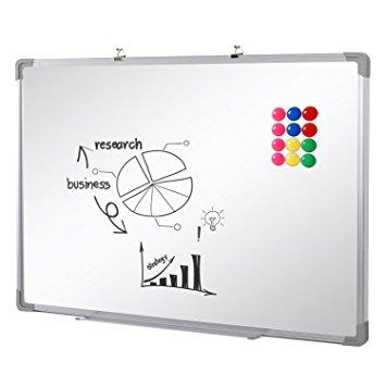 Test SwanSea Tableau Blanc Magnétique effaçable à sec pour