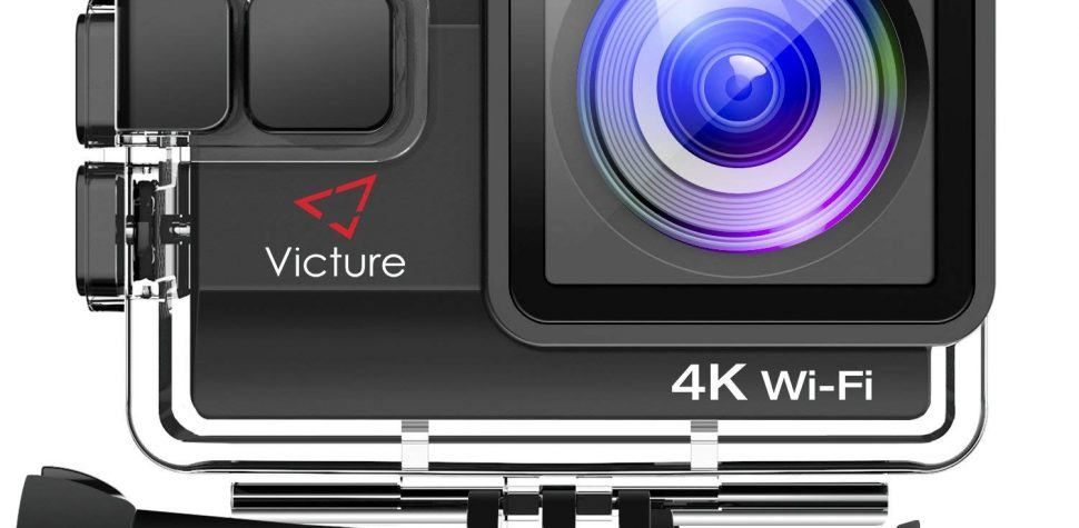 Test Victure Caméra Sport 4K WiFi 20MP Appareil Photo Caméscope
