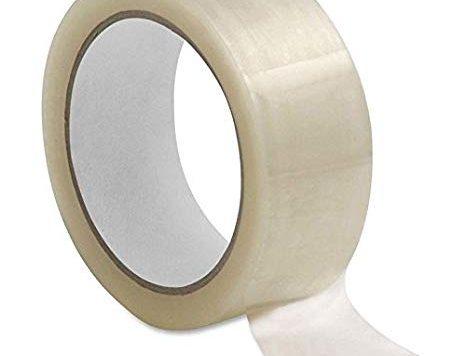 Test 6rouleaux de ruban adhésif d'emballage transparent