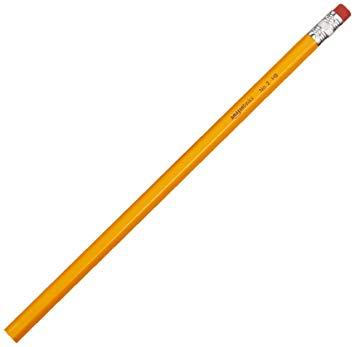 Test AmazonBasics Lot de 96 crayons à papier HB n°2