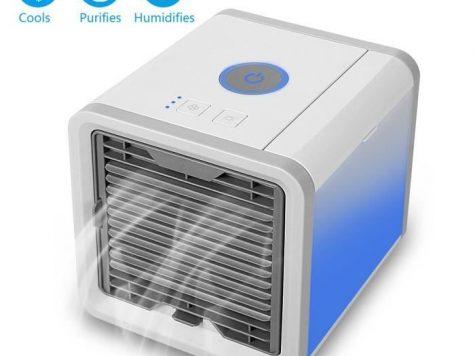 Test Climatiseur Portable, Climatiseur Mobile Ventilateur USB