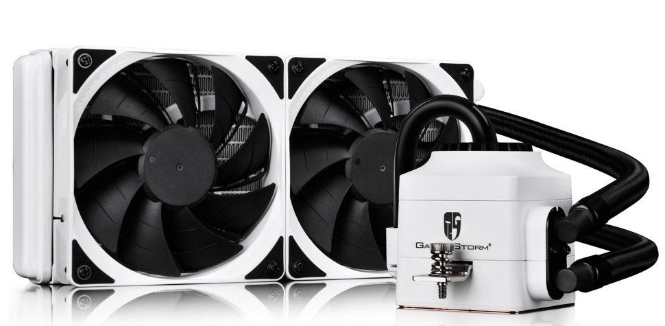 Test DEEPCOOL Captain 240 EX Blanc Kit de refroidissement liquide
