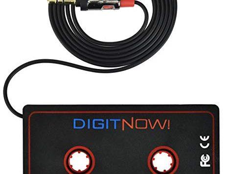Test DIGITNOW! Adaptateur de Cassette Audio Cassette Jack (Noir)