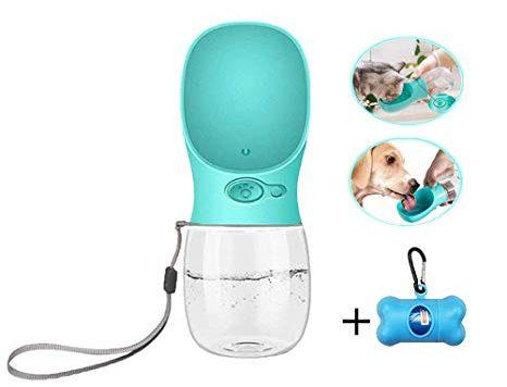 Test Dalmit Bouteille d'eau pour Chien, Portable Prévention des