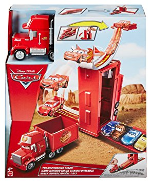 Test Disney Pixar Cars véhicule Camion Mack Transformable 3 en