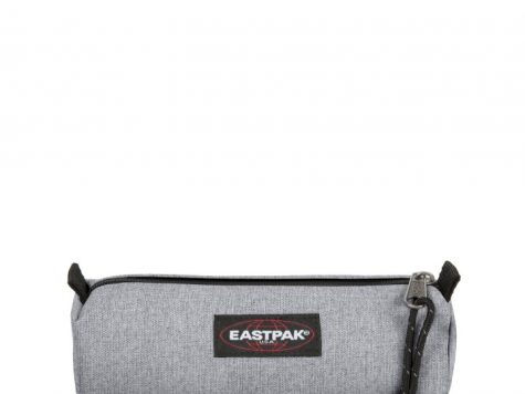 Test Eastpak Benchmark Single Trousse, 21 cm, Gris (Sunday Grey)