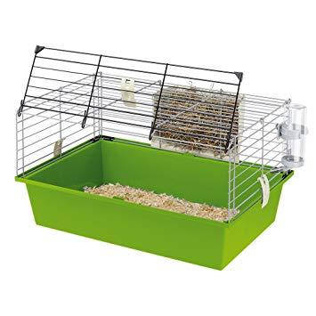 Test Ferplast Cage pour Cobayes Vert 58 x 38 x 315 cm