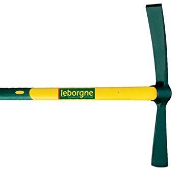 Test Leborgne 060208 Pioche-Hache Douille Ronde 2 kg Manche