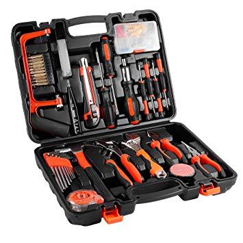 Test Mallette à Outils, 100 Kit Bricolage Coffret d'outils