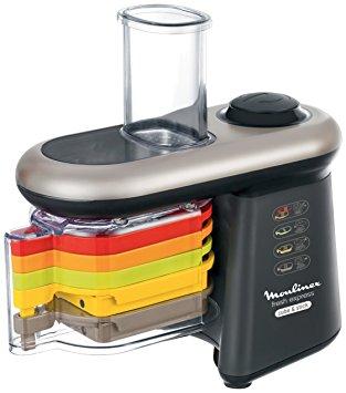 Test Moulinex DJ905810 Découpe Légumes Électrique Fresh