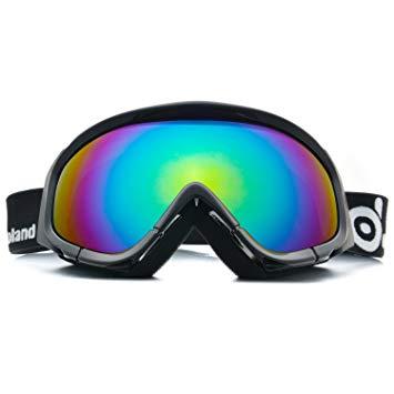 Test Odoland Lunettes de Ski Masque de Snowboard pour Homme &