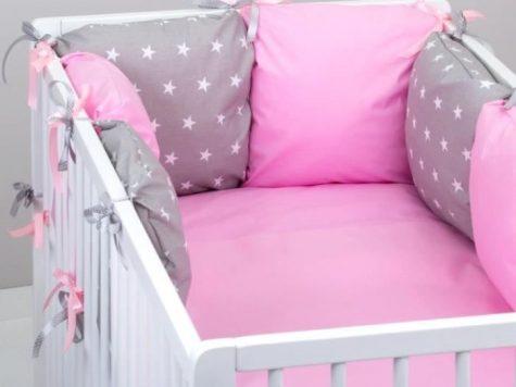 Test Parure de lit bébé et tour de lit–SIX Coussin