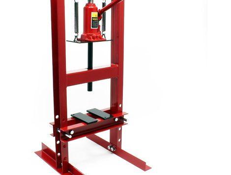 Test Presse hydraulique Presse d'atelier Presse à cadre 6t