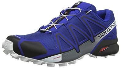 Test Salomon Hombre Speedcross 4, Chaussures de Randonnée Homme