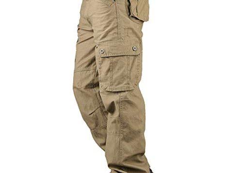 Test TAIPOVE Pantalon de Travail Pantalon Carge Homme Pantalon