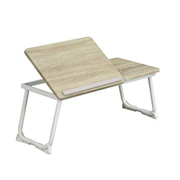 Test Table d'Ordinateur pour Lit Coavas Support Ajustable pour