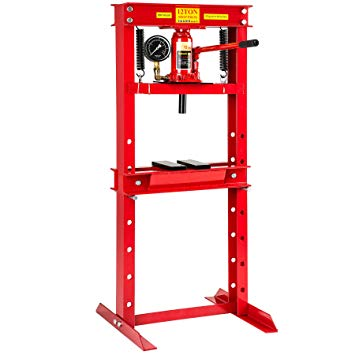 Test TecTake 401670 Presse d'atelier pompe hydraulique 12 tonnes