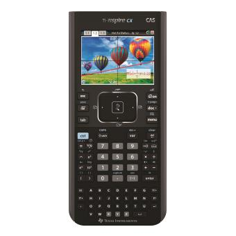 Test Texas Instruments TI-Nspire CX CAS Calculatrice graphique