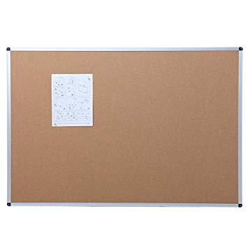 Test Viz-Pro Tableau d'Affichage en liège 110 x 75 cm