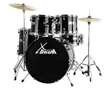Test XDrum Classic Drum Set complet en noir