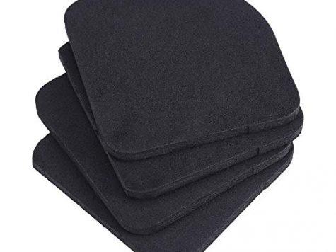 Test 4Pcs Anti-Vibration Pads Universel Pads en caoutchouc pour