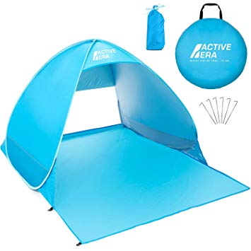 Test Active Era Tente de plage Pop Up Déployable - protection