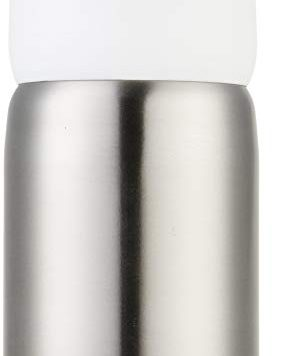Test AmazonBasics Porte-savon en acier inoxydable, Blanc