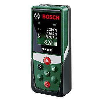Test Bosch Télémètre Laser Connecté PLR 30 C Connexion