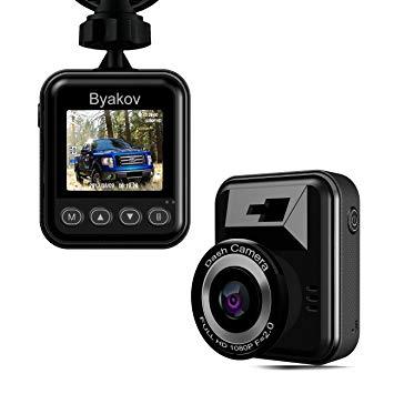 Test Caméra de voiture, Byakov Dashcam voiture enregistreur de