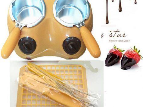 Test Durable Chocolat Chaud Melting Pot à Fondue électrique