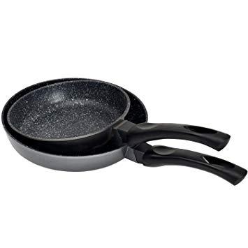 Test Kitchen Pro - Poêle en pierre tous feux dont induction + 2