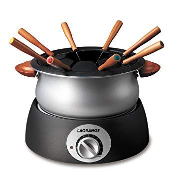 Test Lagrange 349001 Appareil à fondue Classic Poignées bois
