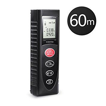 Test Télémètre Laser Numérique Portable de Precision, Eventek