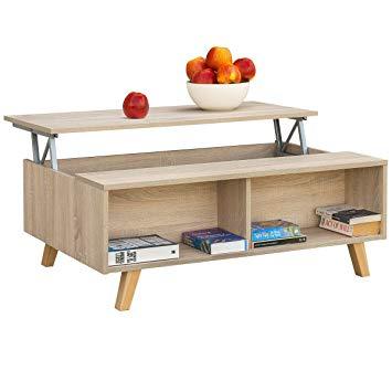 Test Table basse Comifort relevable moderne pour salle à manger