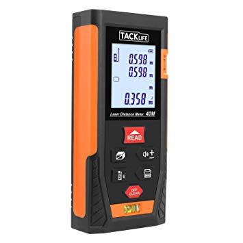 Test Tacklife HD 40m Télémètre Laser Numérique Metre